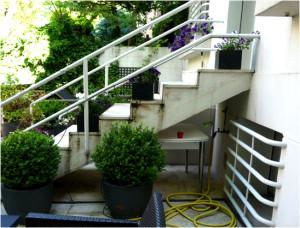 Escalera sin restaurar - Imagen Propiedad de Slabon Forja Creativa
